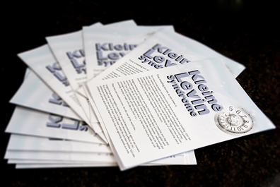 KLS Leaflets for friends and family